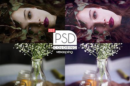 PSD Coloring 023 by vesaspring