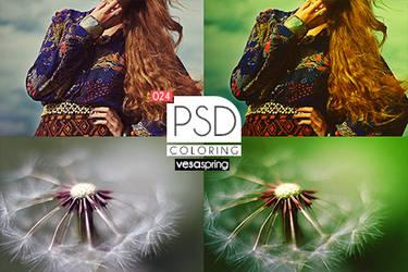 PSD Coloring 024 by vesaspring