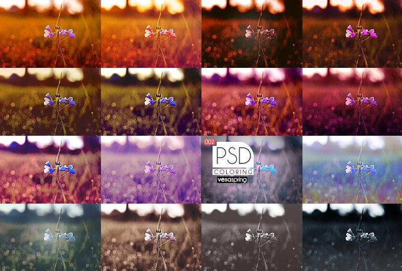 PSD Pack - Summer