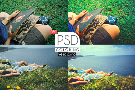 PSD Coloring 030 by vesaspring