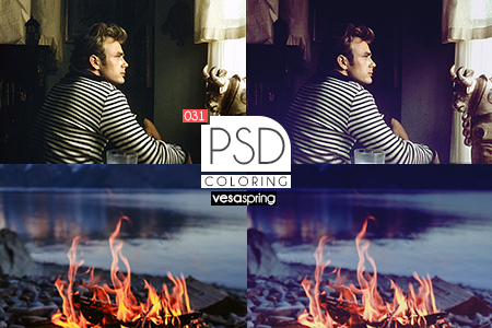 PSD Coloring 031 by vesaspring