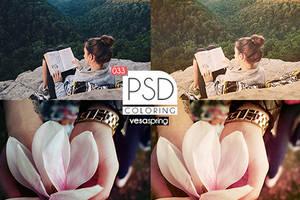 PSD Coloring 033 by vesaspring