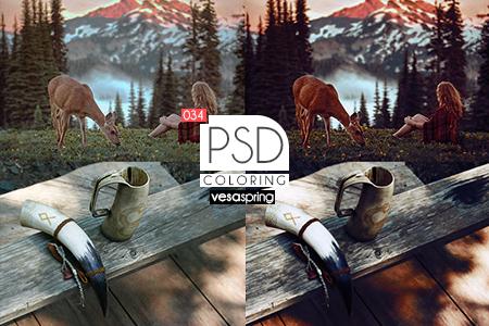 PSD Coloring 034 by vesaspring