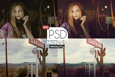 PSD Coloring 036 by vesaspring