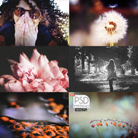 PSD Pack - Autumn by vesaspring