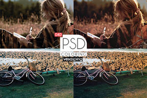 PSD  Coloring 040 by vesaspring