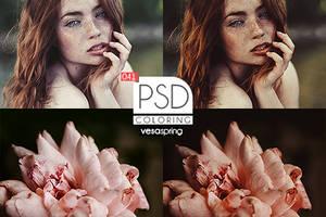 PSD Coloring 041 by vesaspring