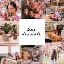 Rose Lemonade Lightroom Preset!