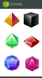 DnD Dice icon Xnix version