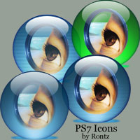 Photoshop 7 icon pack by rontz