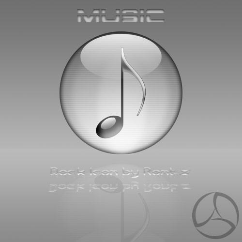 Silver Aqua My Music Icon