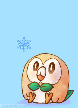 [GIF] ROWLET - ITS SUPPER EFFECTIVE