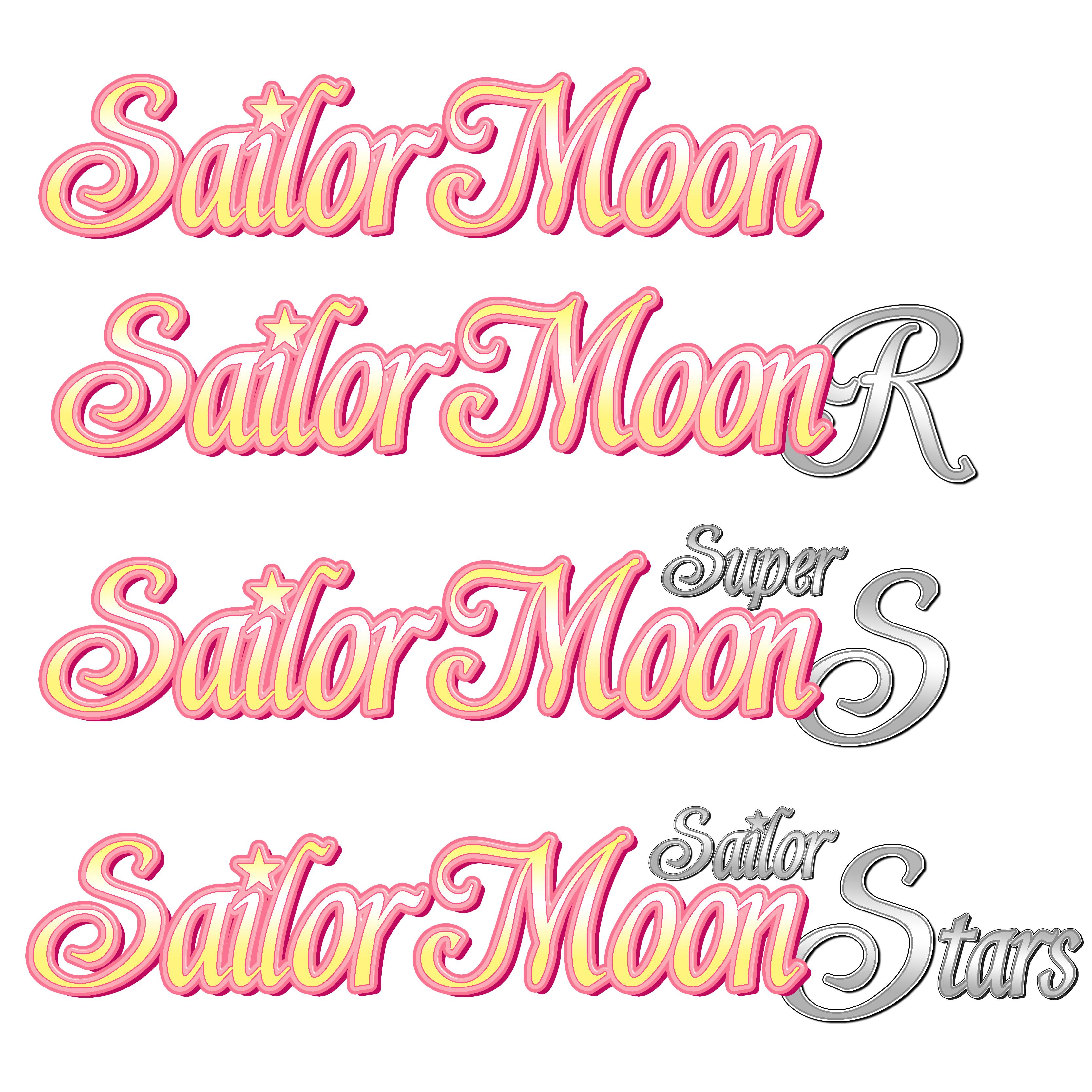 Italian Sailor Moon Logo Title by TsukiHenshin on DeviantArt