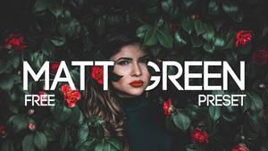 Matt Green CAMERA RAW FREE PRESET