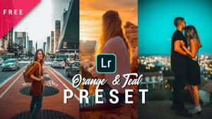 Teal and orange lightroom preset