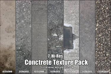 Hi-Res Concrete Texture Pack by Lilshadow
