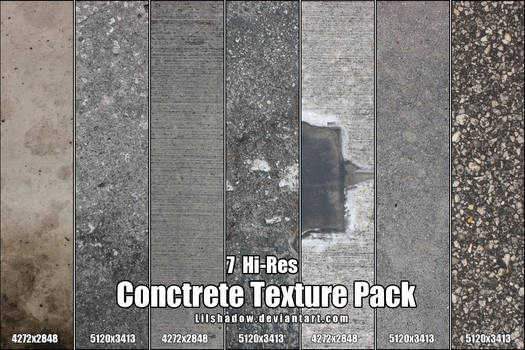 Hi-Res Concrete Texture Pack