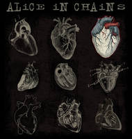 alice in chains t-shirt by marucru