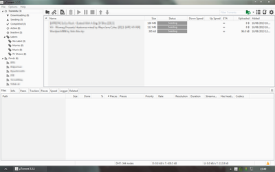 Utorrent skin all grey