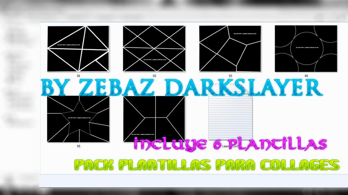 Pack 6 Plantillas para Collage by Zebaz-DarkSlayer on DeviantArt
