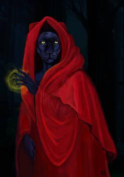 Panther-priestess - gif