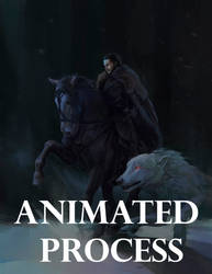The king in the North: Animated process