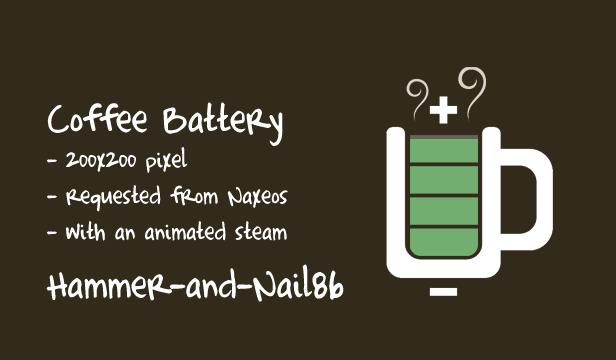 Coffee Battery 200pixel