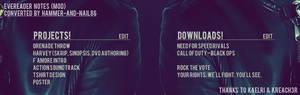 EveReader Notes (MOD)