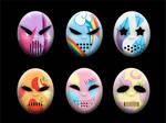 Main Six Hockey Masks