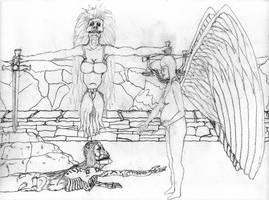 Crushed - sketch by holyguyver
