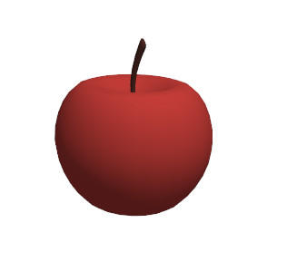 MMD - apple by SuminoChan