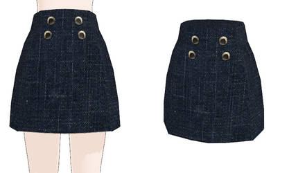 Skirts On Mmd Resources Deviantart
