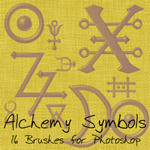 Alchemy Symbols by alphakitty