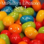 GIMP MsPastel's Emoticon Brush Set 1