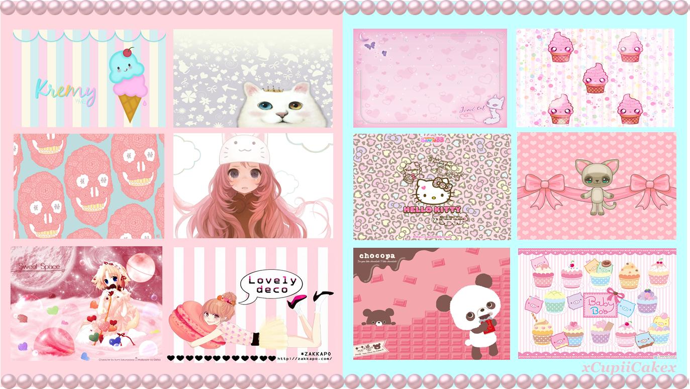 Kawaii Wallpapers by xCupiiCakex