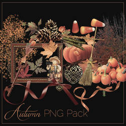 Autumn PNG Pack #1