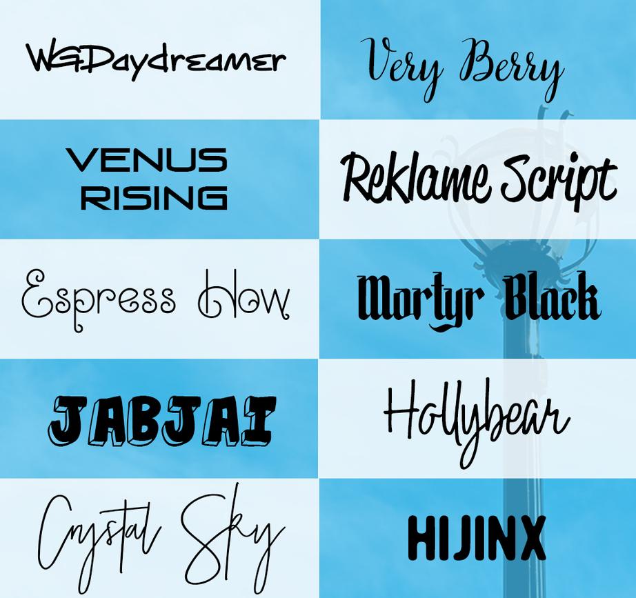 Download Random fonts pack 02 by U2reka on DeviantArt
