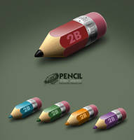 Pencil by RecluseKC