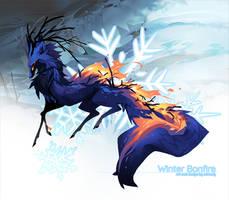 [Verdeer] Day 14: Winter Bonfire (ANIMATED)