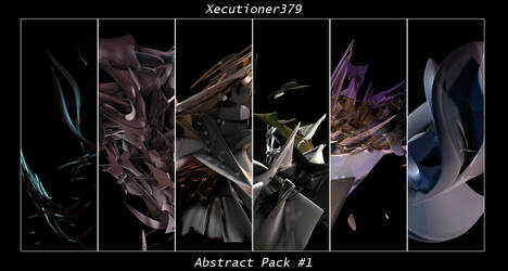 Abstract Render Pack 1 by Xecutioner379