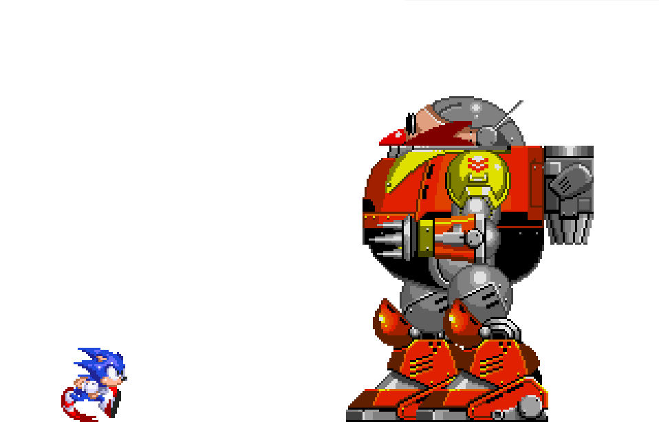 Sonic Vs Death Egg Robot Animation By Dragonthehedgehog379 On Deviantart