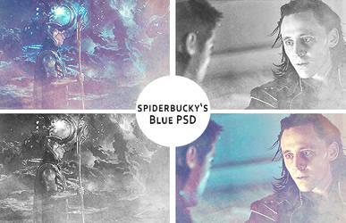 Spiderbucky's Blue PSD