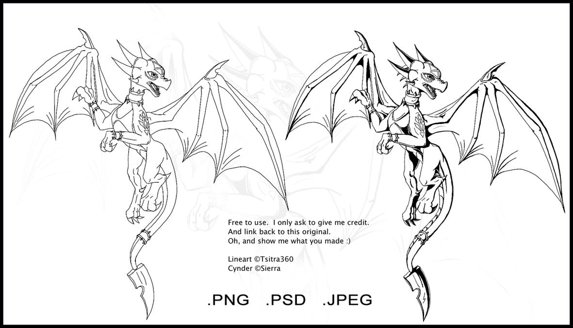 spyro and cynder coloring pages - photo#15