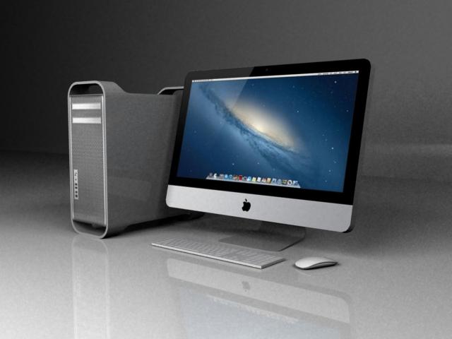 lowpoly mac pro 3d model by mrlaze on deviantart. Black Bedroom Furniture Sets. Home Design Ideas