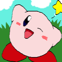 How I draw Kirby by Rotommowtom