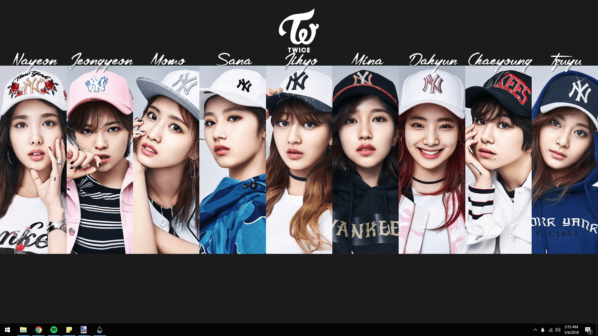 Twice Name Display 1 0 Rainmeter By Turndownkingtut On Deviantart