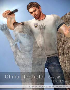 Chris Redfield 'Casual' mesh-mod for XNALara