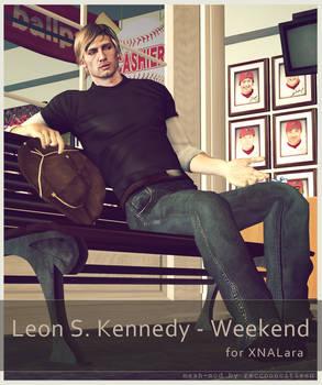 Leon S Kennedy - Weekend - for XNALara