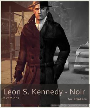 Leon S Kennedy - Noir Pack - for XNALara