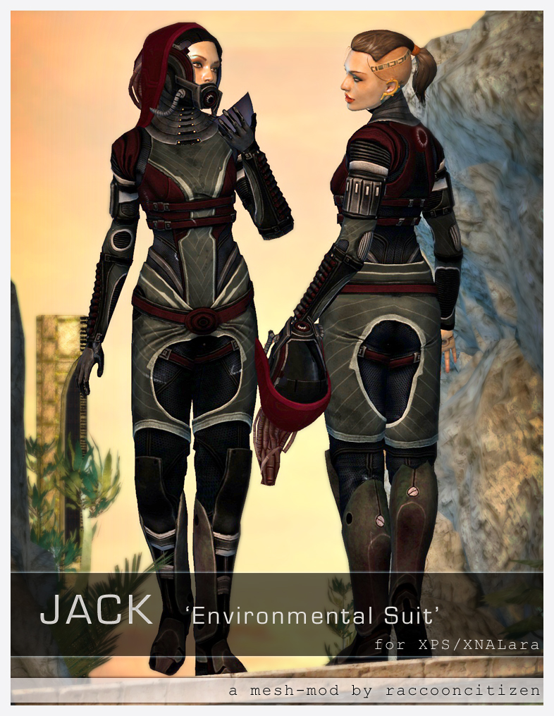Jack Environmental Suit for XPS by raccooncitizen